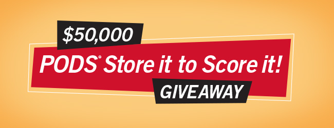 PODS Store it to Score it Contest